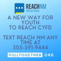 Reach NM is available by text at 505-591-9444